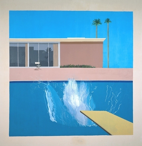 A Bigger Splash, 1967 image