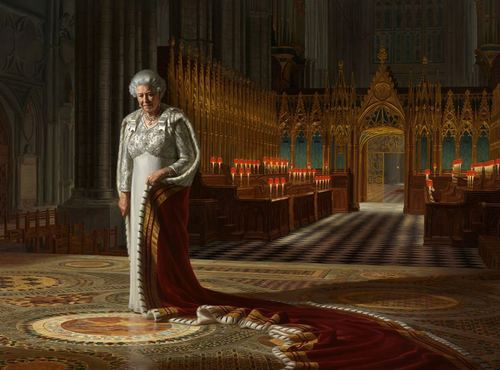 A Portrait of Her Majesty Queen Elizabeth II image