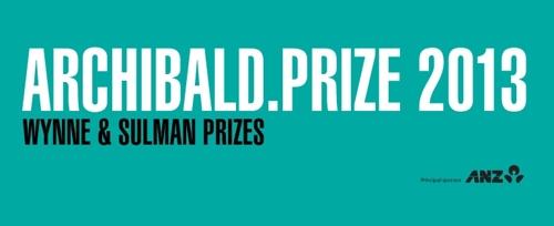 Archibald, Wynne and Sulman Prizes 2013 image