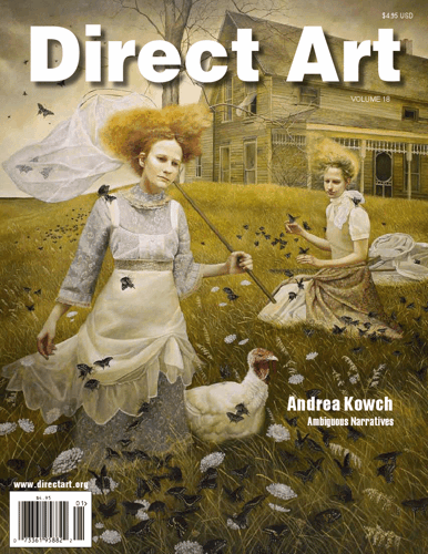 Call for Entries: DIRECT ART MAGAZINE, VOLUME 20 image