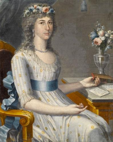 Doña María de los Dolores Gutiérrez del Mazo y Pérez, circa 1796 image