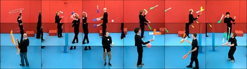 David Hockney: The Jugglers image