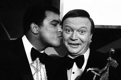 Bert Newton and Muhammad Ali image