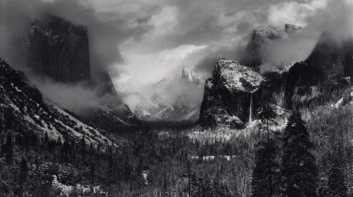 Clearing Winter Storm Yosemite National Park, California image