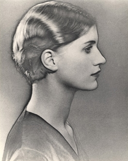 Solarised Portrait of Lee Miller image