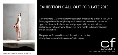 CF Gallery Proposal Call Out image