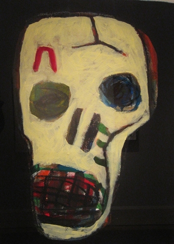David LARWILL Skull II   1996 image