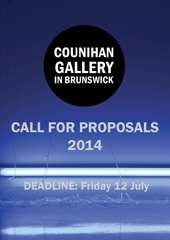 Closing soon! Applications for 2014 Exhibition Program image
