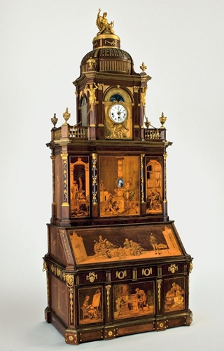 Furniture by Abraham and David Roentgen on loan from the Kunstgewerbemuseum, Staatliche Museen zu Berlin image