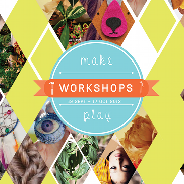 MAKE.PLAY Workshops image