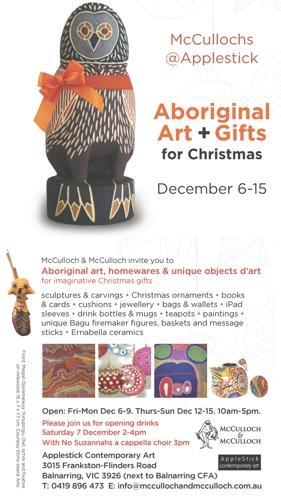 Aboriginal art, gifts + objets d'art @ Applestick Contemporary Art image