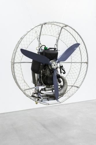Roman Signer Skulptur - Installation image