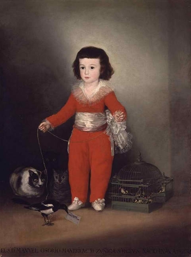 Goya and the Altamira Family image