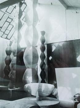Emma Hamilton, Research Image: Photograph of a photograph by Brancusi, 2012. image