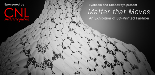 Matter that Moves: An Exhibition of 3D-Printed Fashion image