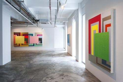 Peter Halley: Solo Exhibition image