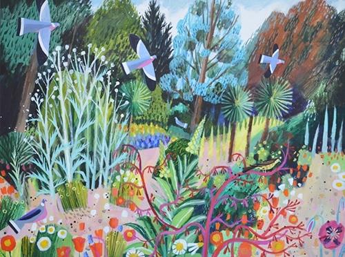 Norfolk Garden by Mary Sumner image