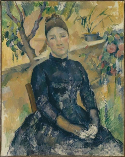 Madame Cézanne in the Conservatory image