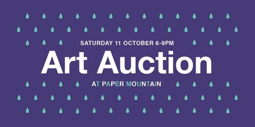 Paper Mountain Art Auction image