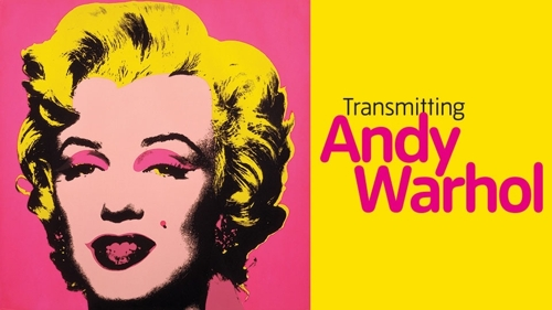 Transmitting Andy Warhol image