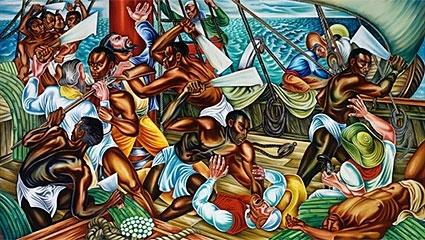 Rising Up: Hale Woodruff's Murals at Talladega College image