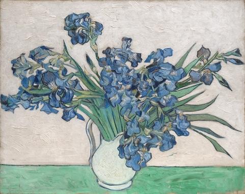 Van Gogh Irises and Roses image