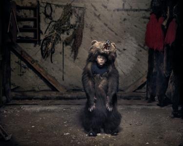 Ciprian, the Bear Dancer (Salatruc, East Romania) image