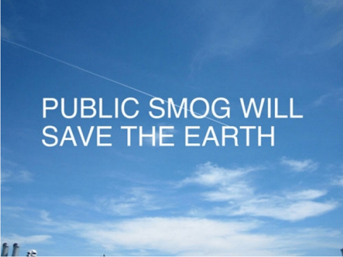 Public Smog will save the world image