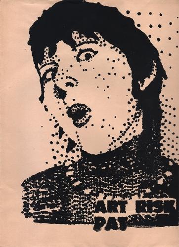 Pat Larter, Untitled Mail Art (Art Risk Pat) image