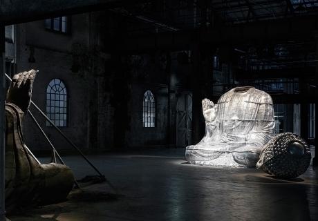 Zhang Huan: Sydney Buddha  image