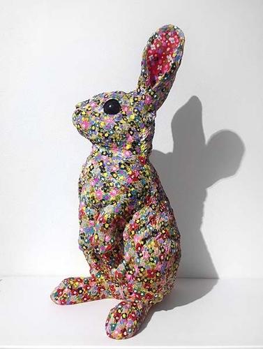 Graham Blondel, 'Camouflaged Rabbit' 2015 image
