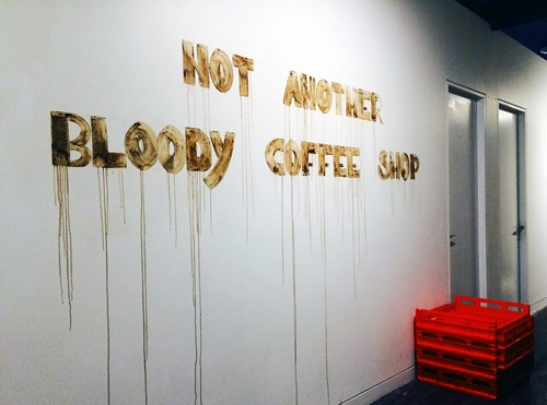 Not Another Bloody Coffee Shop (installation view). image