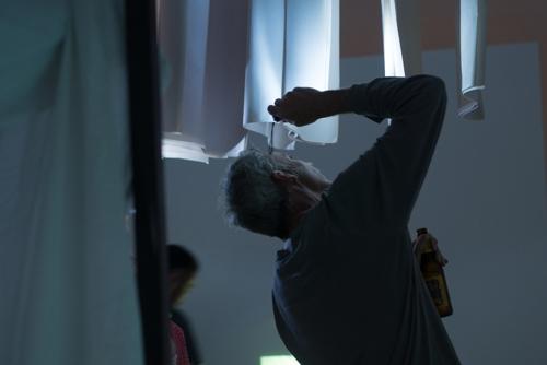 Elizabeth Farlie, Unmaking Her (installation detail), 2014 image