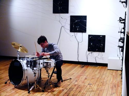 Installation & Performance: Eli Keszler image