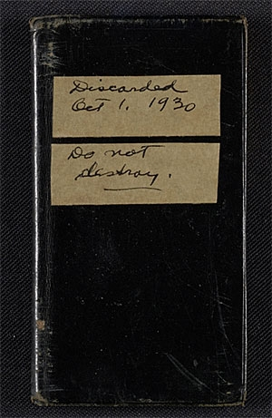 Little Black Books: Address Books from the Archives of American Art image