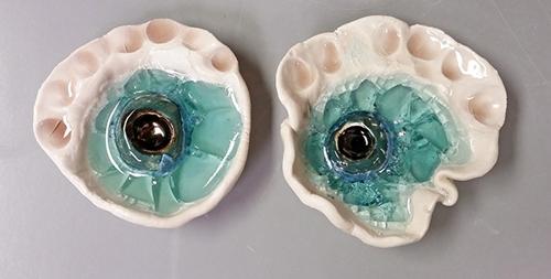 Image: Rachael McCallum, ceramic form (detail) 2015.  image