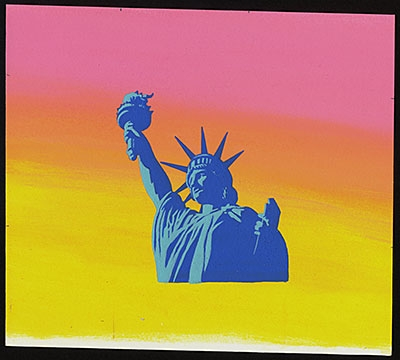 New York City: A Portrait Through Stamp Art image