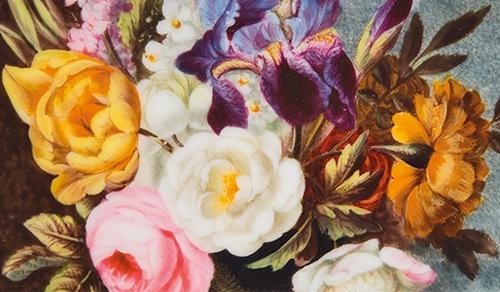 Painted porcelain— decorated British ceramics 1750–1850 image