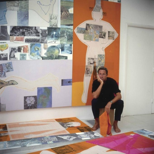 Rauschenberg In China: The 1/4 Mile Or 2 Furlong Piece To Travel Nearly 7000 Miles To Be Exhibited In Beijing, June 2016 image