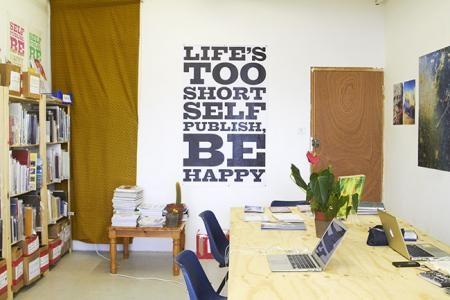 Self Publish, Be Happy Zine-making Workshop image