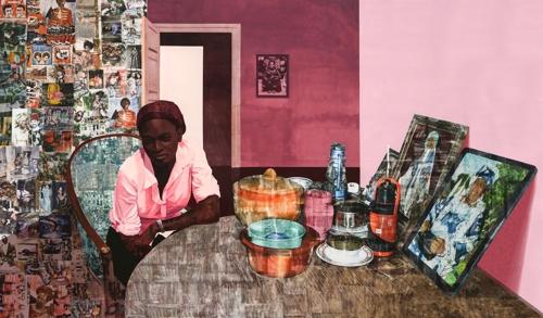 Njideka Akunyili Crosby: Before Now After (mama, Mummy And Mamma) image