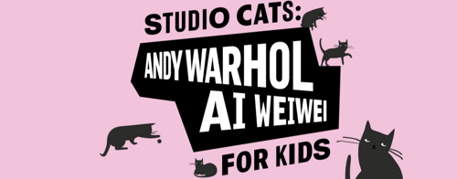 Studio Cats: Andy Warhol | Ai Weiwei for Kids image