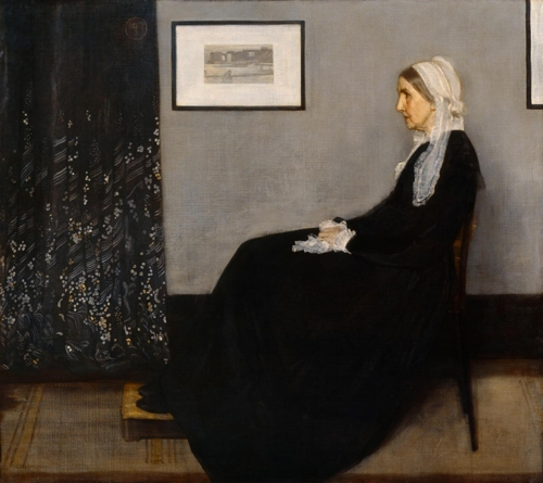 Whistler's Mother image