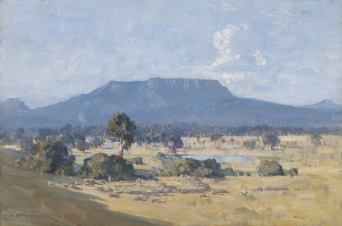 Land of the Golden Fleece— Arthur Streeton in the Western District image