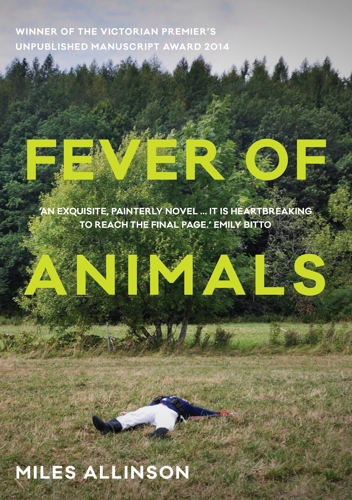 Members Book Club Fever of Animals, Miles Allinson image