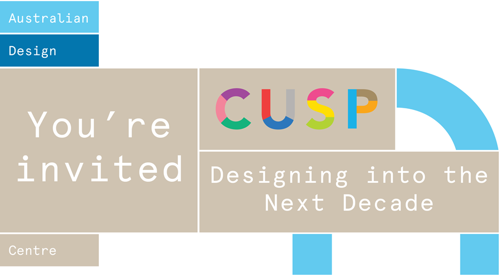 CUSP: Designing into the Next Decade image