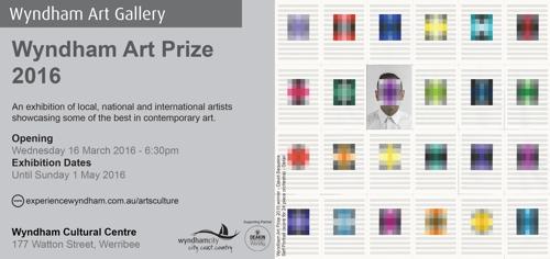 Wyndham Art Prize Flyer image