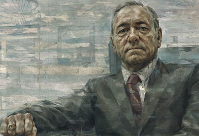 Kevin Spacey as President Francis J. Underwood image