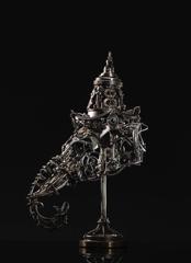 Banjerd Lekkong, Ganesha Head, Iron, 23''x 14''x 14.5'' image