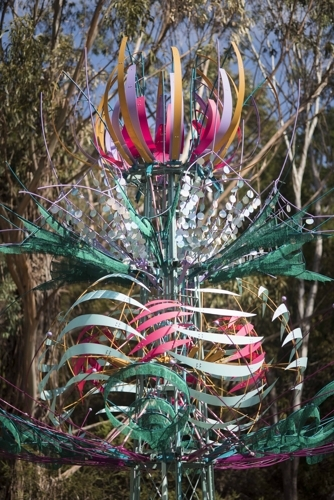 Kinetic Sculpture by Alex Sanson - Launch and Viewing image